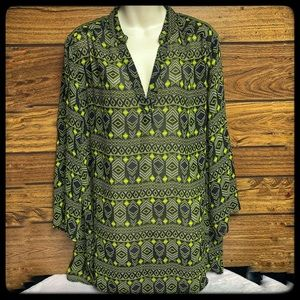 Derek Heart plus 3X black/yellow tunic
